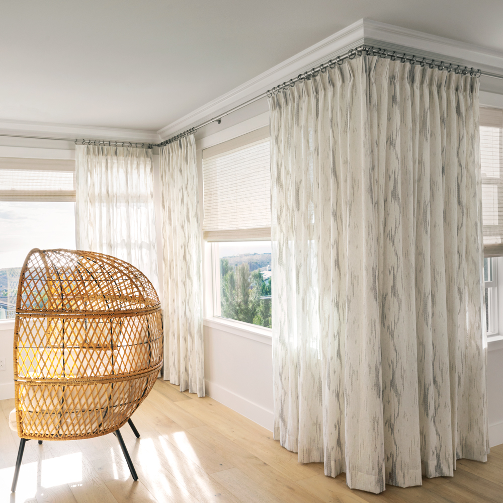 Pleated Style Drapes