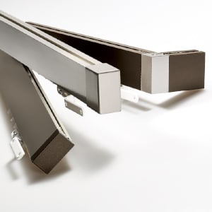 Metro Track Aluminum Wall Mount Collection