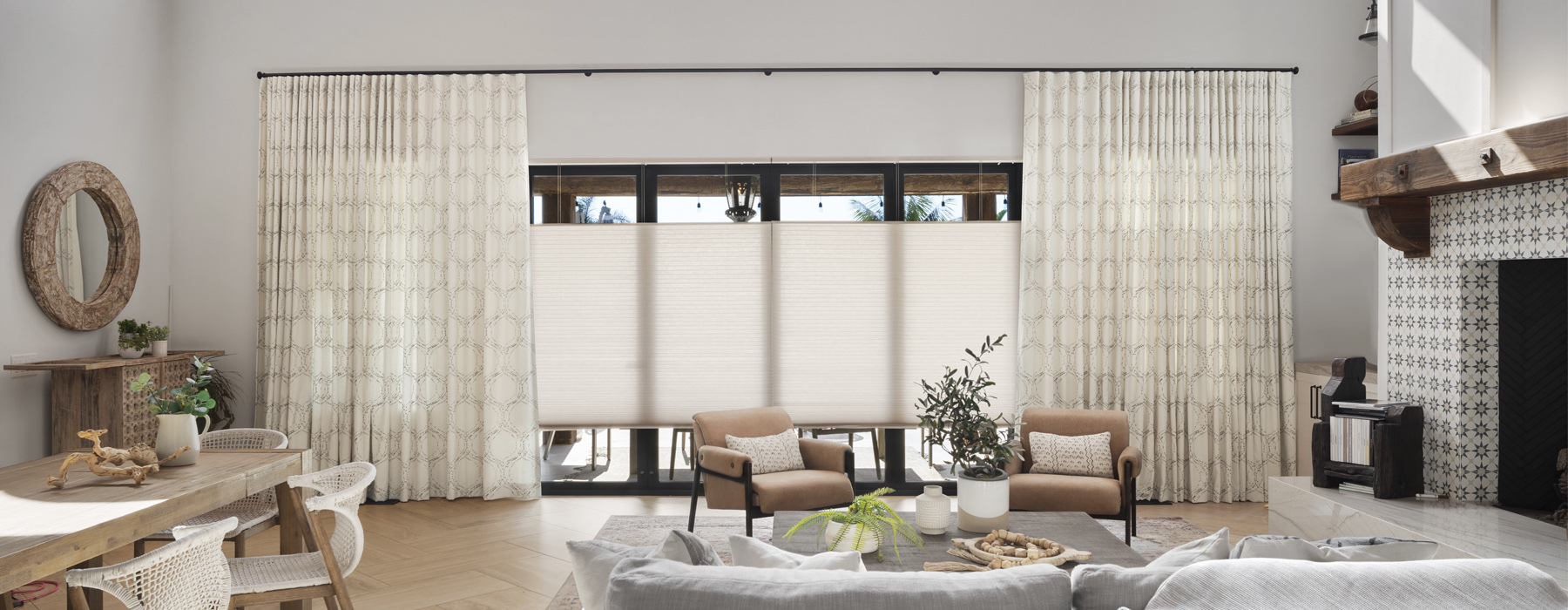 Room with Window Treatments